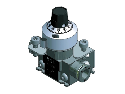 KND Needle Valve With Adjusting Dial